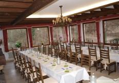 restaurant gut stubb tafel